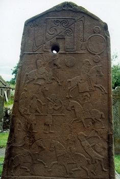 Aberlemno Pictish stone